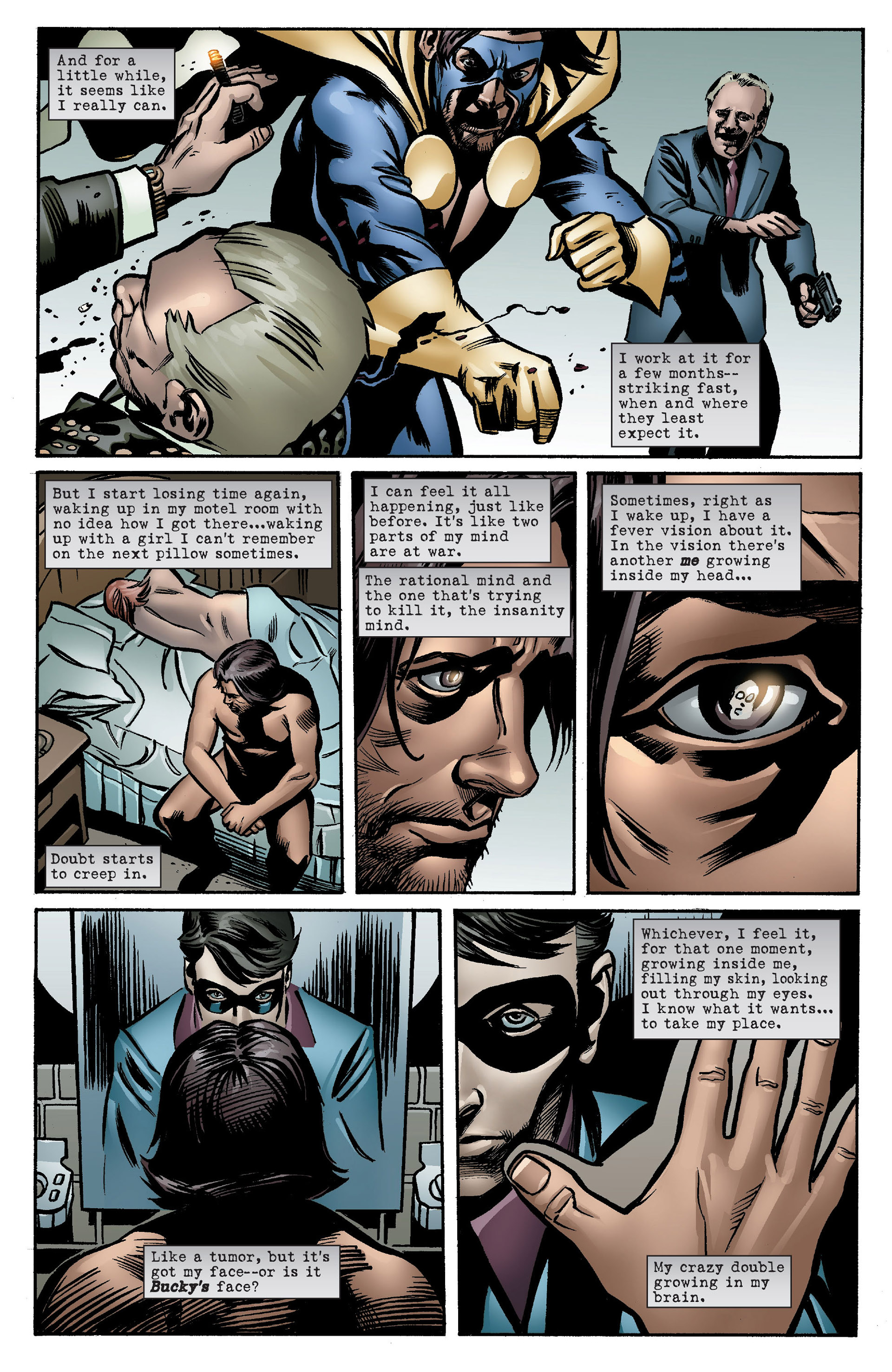 Captain America (2005) Issue #7 #7 - English 16