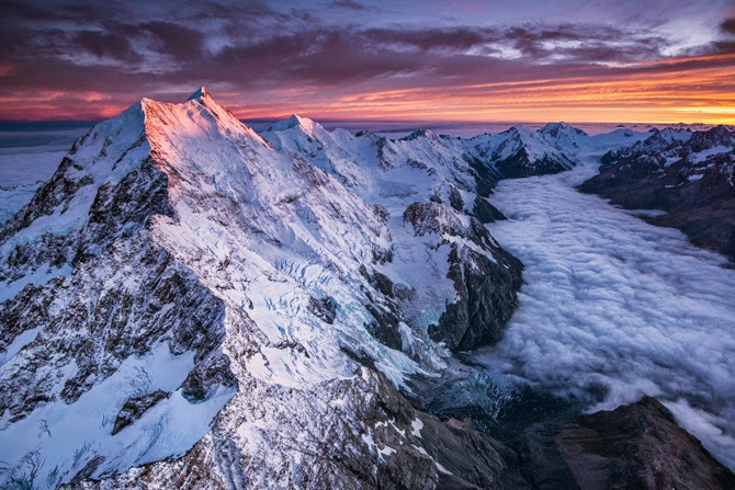 Michael Melford, Mount Cook, Nueva Zelanda, National Geographic