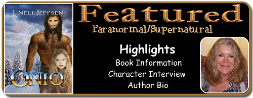 Laurie's Paranormal Thoughts and Reviews: Onio by Linell Jeppsen: Character Interview and Review