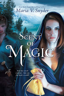Scent of Magic Maria V. Snyder book cover