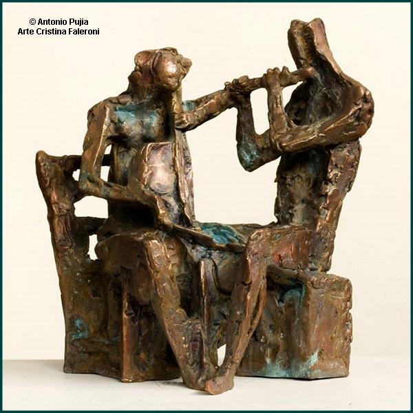 Antonio Pujia. Esculturas
