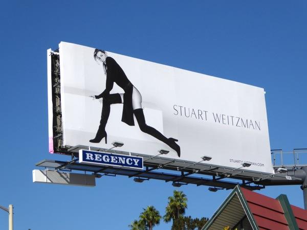 Stuart Weitzman boots Fall 2015 Gisele Bundchen billboard