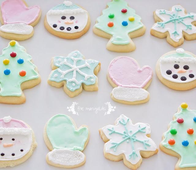 vanilla almond sugar cookie recipe