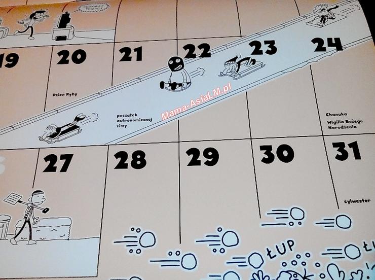 Nieziemski Kalendarz Cwaniaczka Dzień Ryby Wigilia