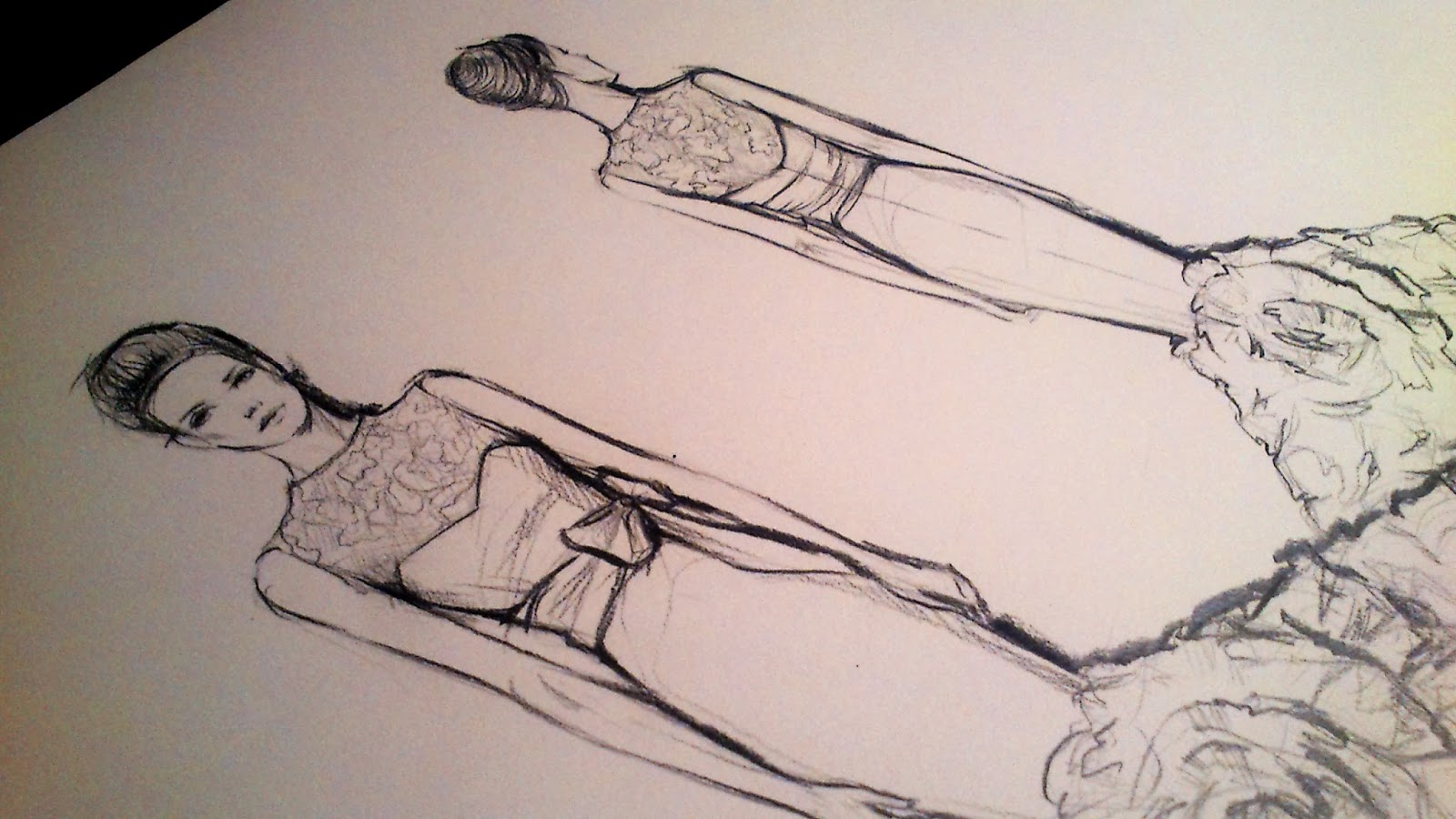 Эскизы по пошиву платьев