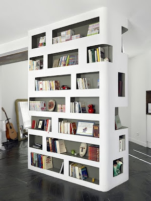 inside outside design : beautiful bookshelves