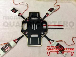 ESC 30A para Quadricoptero Multimotor DJI Naza Lite