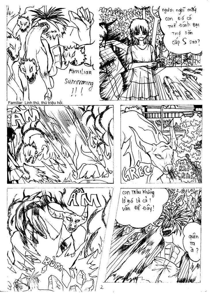 MASK The FiendHunter chap 2 - Trang 3
