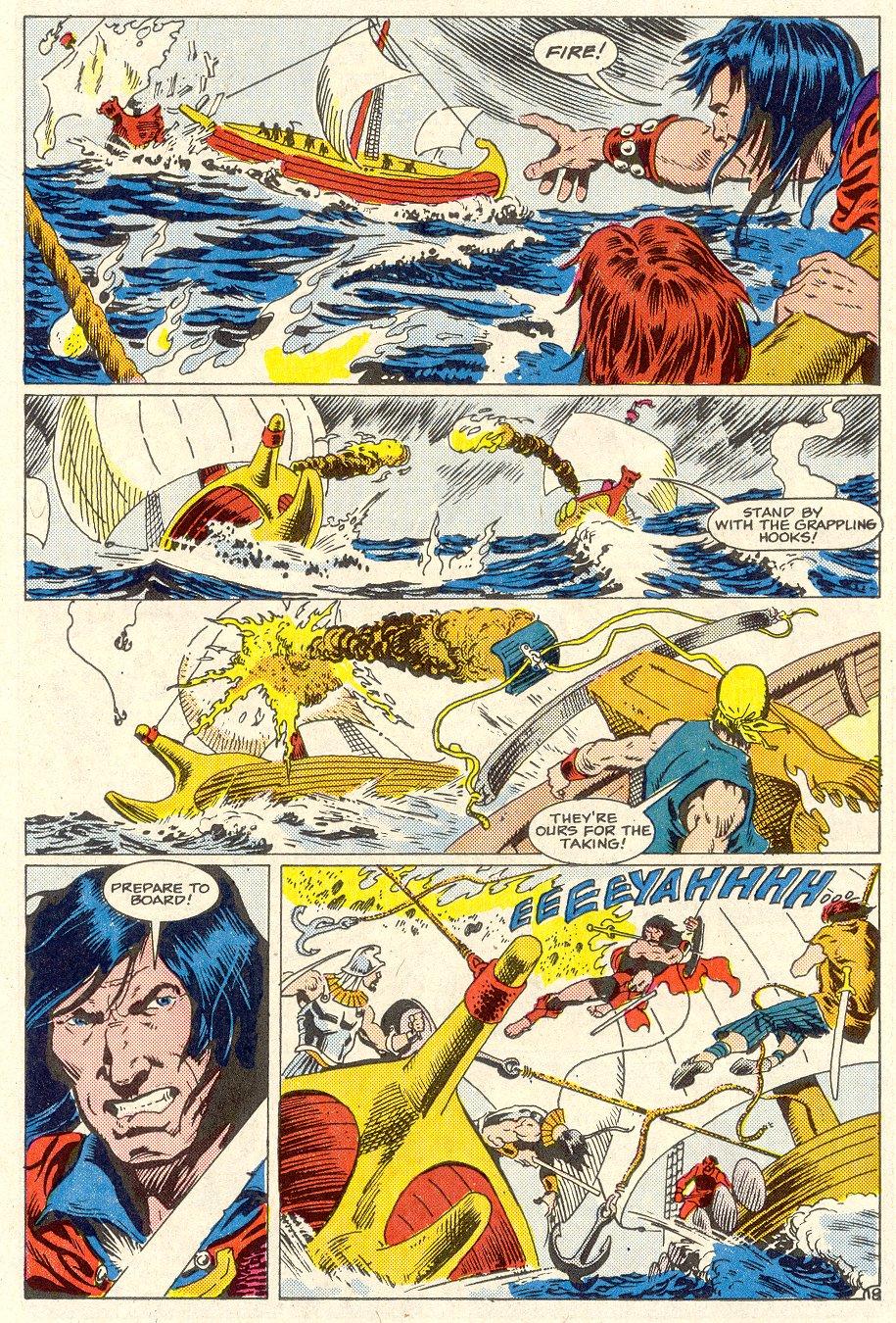 Conan the Barbarian (1970) Issue #186 #198 - English 19