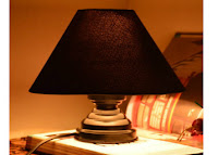 Pepperfry : Buy Yashasvi Bold Black Table Lamp At 75% OFF And  30% Cashback On WTF deal : Buy To Earn