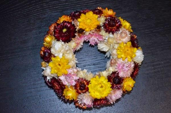 final dry flowers wreath