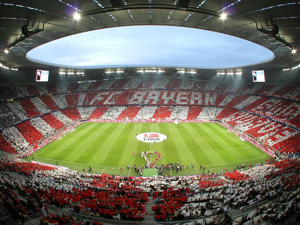 bayern m nchen and allianz arena awin language. Black Bedroom Furniture Sets. Home Design Ideas