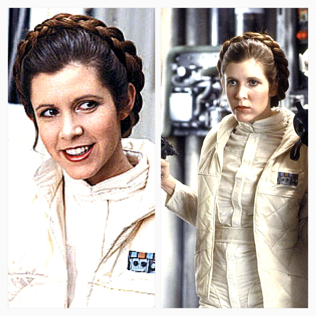 Princess Leia Hoth Hair Displaying Images For ...