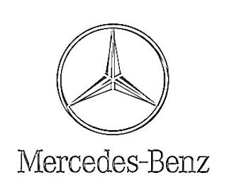 Mercedes Benz Logo Sketch
