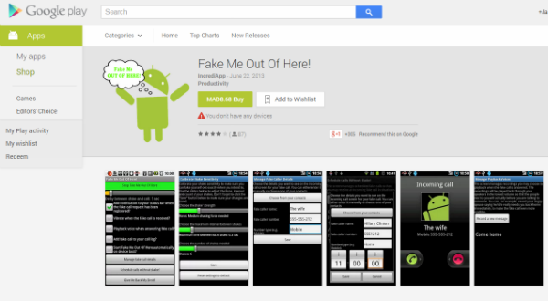 applications, andriod app, fake me out of here, fake me, download fake me out of here, google play, download, crazy app, apps,