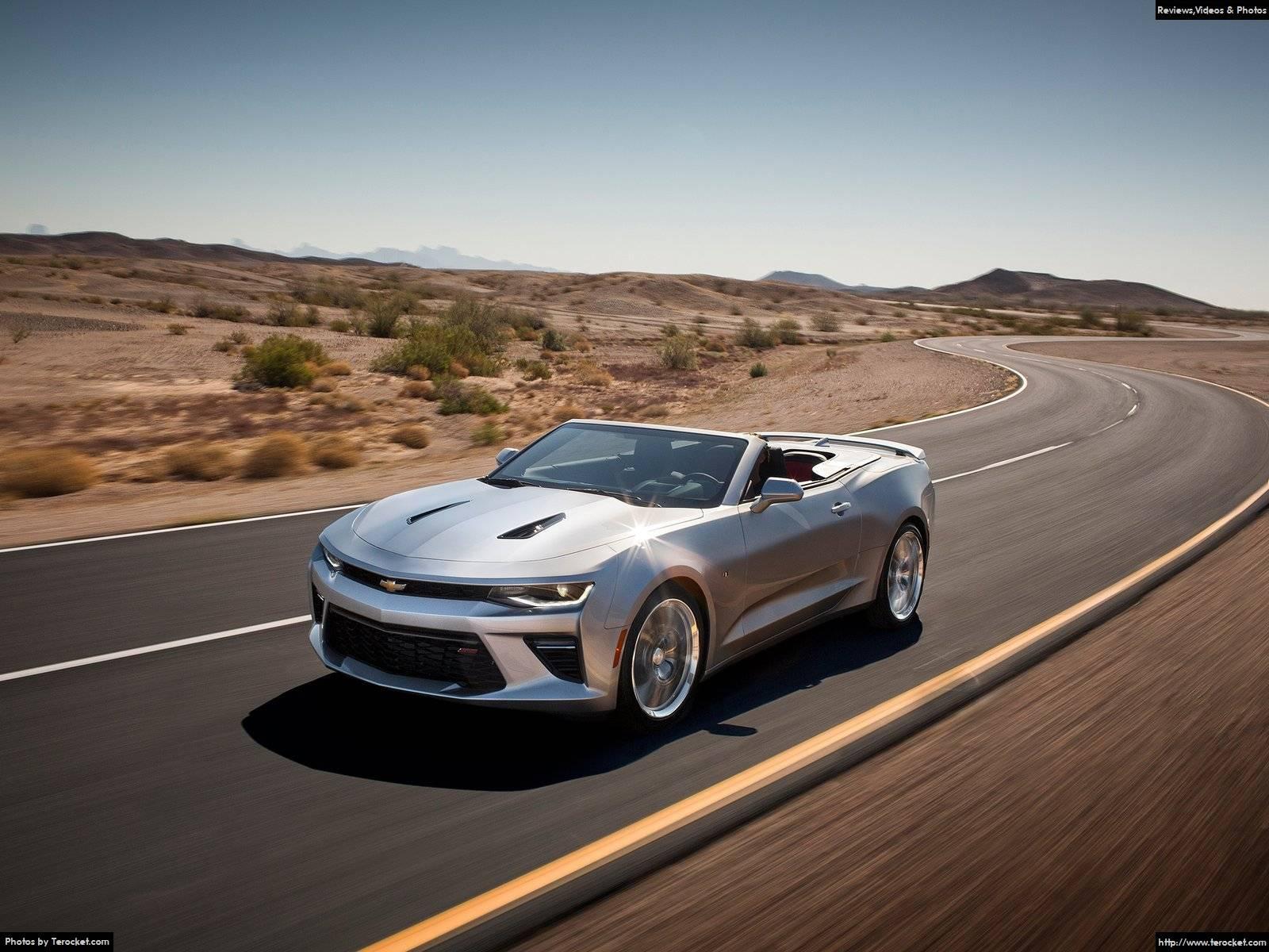 Hình ảnh xe ô tô Chevrolet Camaro Convertible 2016 & nội ngoại thất