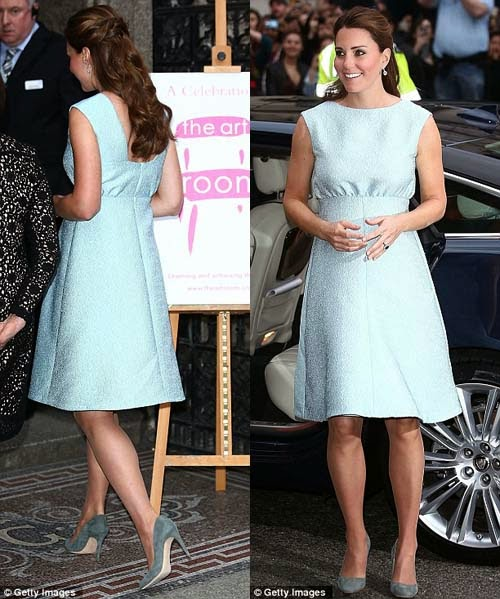 model baju hamil kate middleton trendy