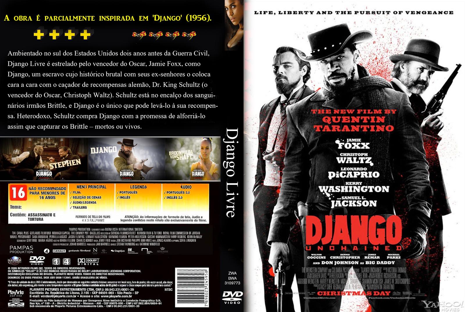 Filme Marcas Da Guerra inside capa do filme django livre 2012 capas de dvds - capas de filmes e