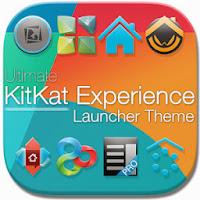 ثيم الكيتكات  لجميع الانشرات KitKat 4.4 Launcher Theme