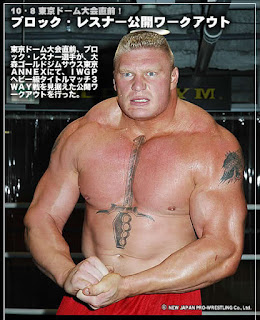 Brock Lesnar Tattoos - WWE Superstar Tattoo Designs