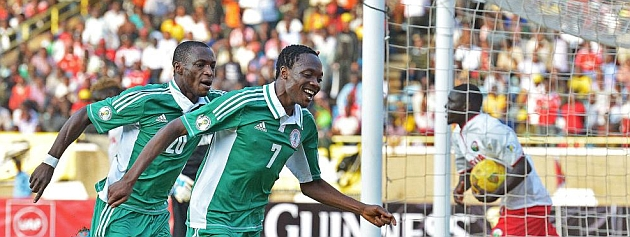 Nigeria will play in the Confederations Cup