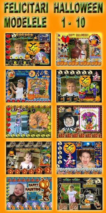 Felicitari  Halloween  Modeleel  1-10