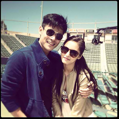 Hot Pinoy Showbiz: Kim Chiu and Xian Lim Enjoy Their Stay in Carson