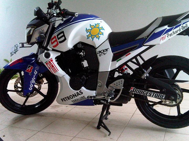 Modifikasi Lampu Motor Yamaha Byson