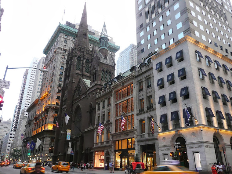 EN ROULANT DANS NEW-YORK_______________