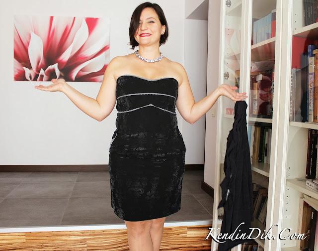 siyah abiye elbise model