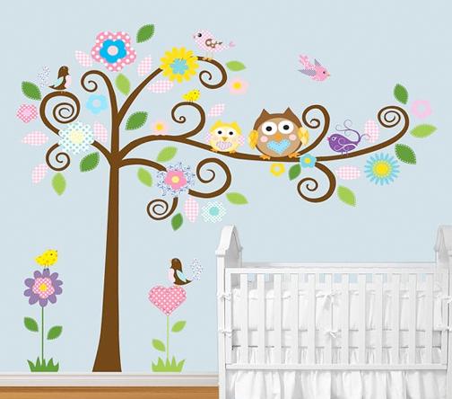 Vinilos rboles infantiles imagui for Vinilos decorativos infantiles para nina