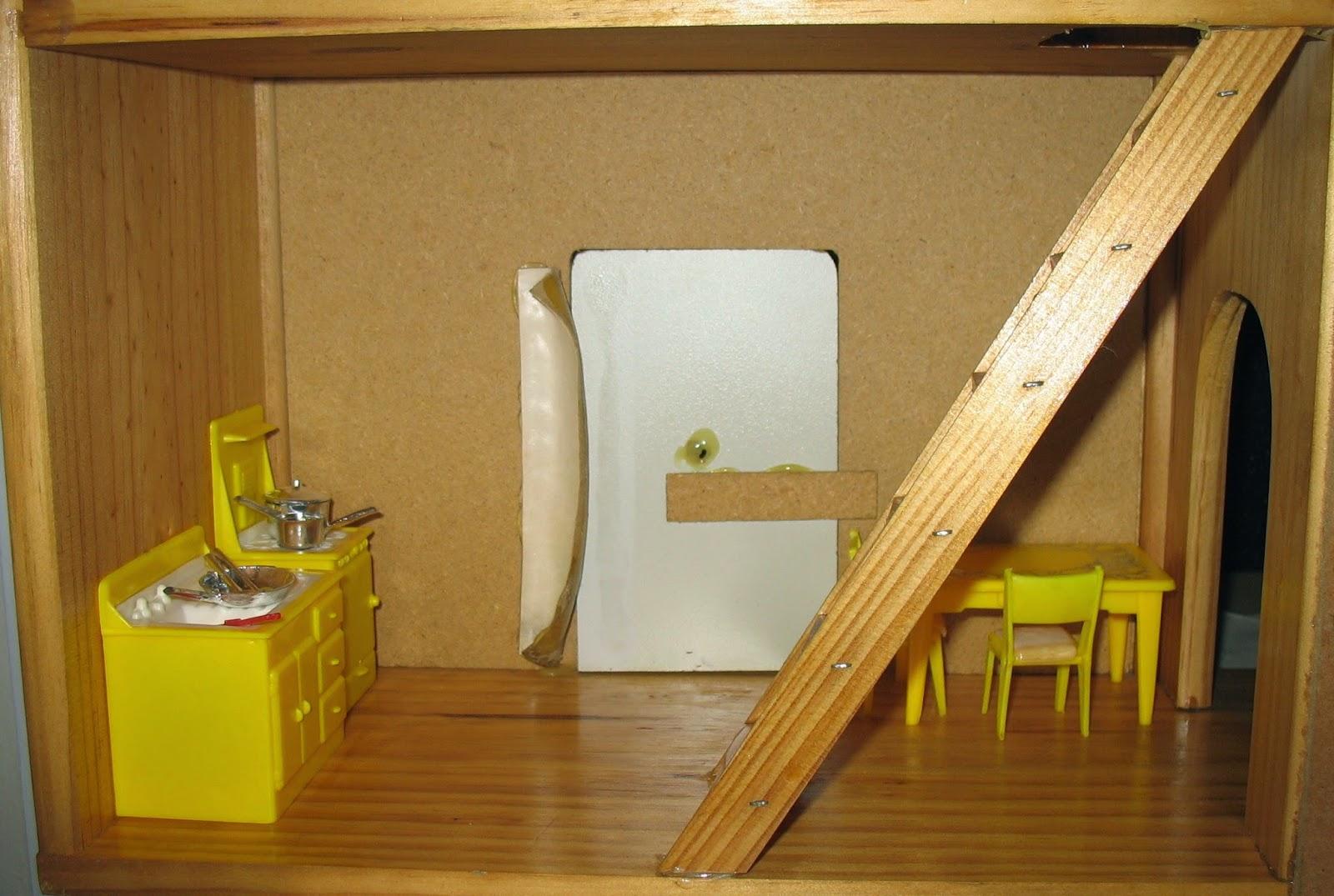 yellow door shutters house yellow plastic