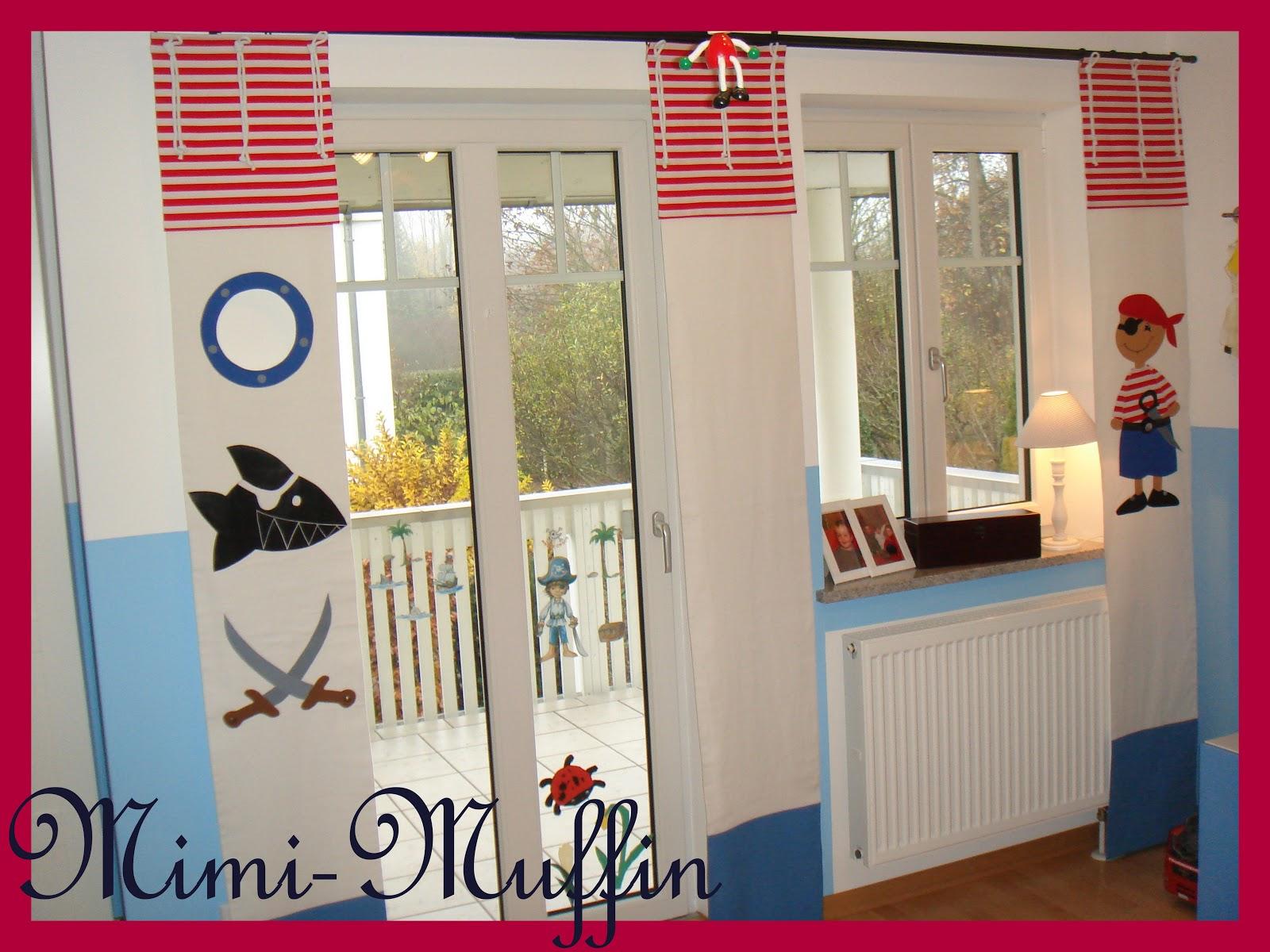 Mimi muffin ein piratenzimmer in wei - Piratenzimmer deko ...