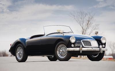 Un majestuoso MG A1500 Año 1957 (Autos de Lujo)