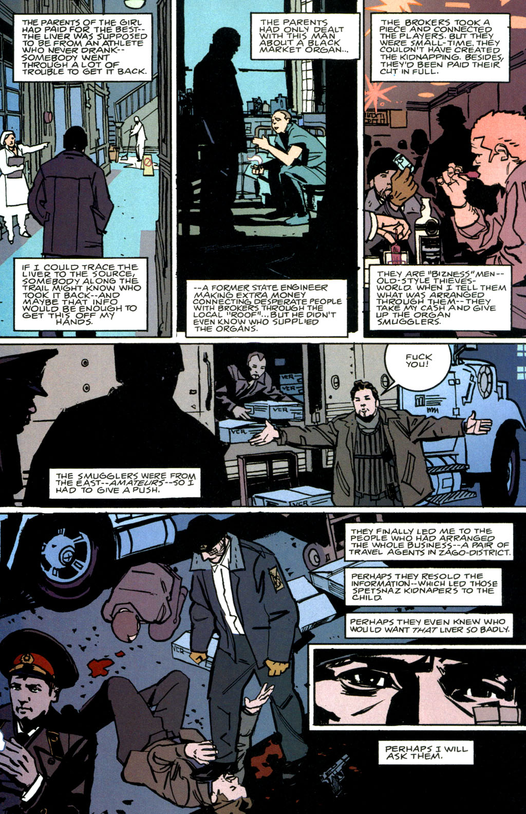 Read online The Winter Men comic -  Issue #1 - 23