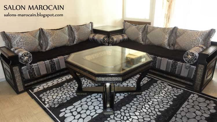 top salon marocain 2014 d coration salon marocain moderne 2016. Black Bedroom Furniture Sets. Home Design Ideas