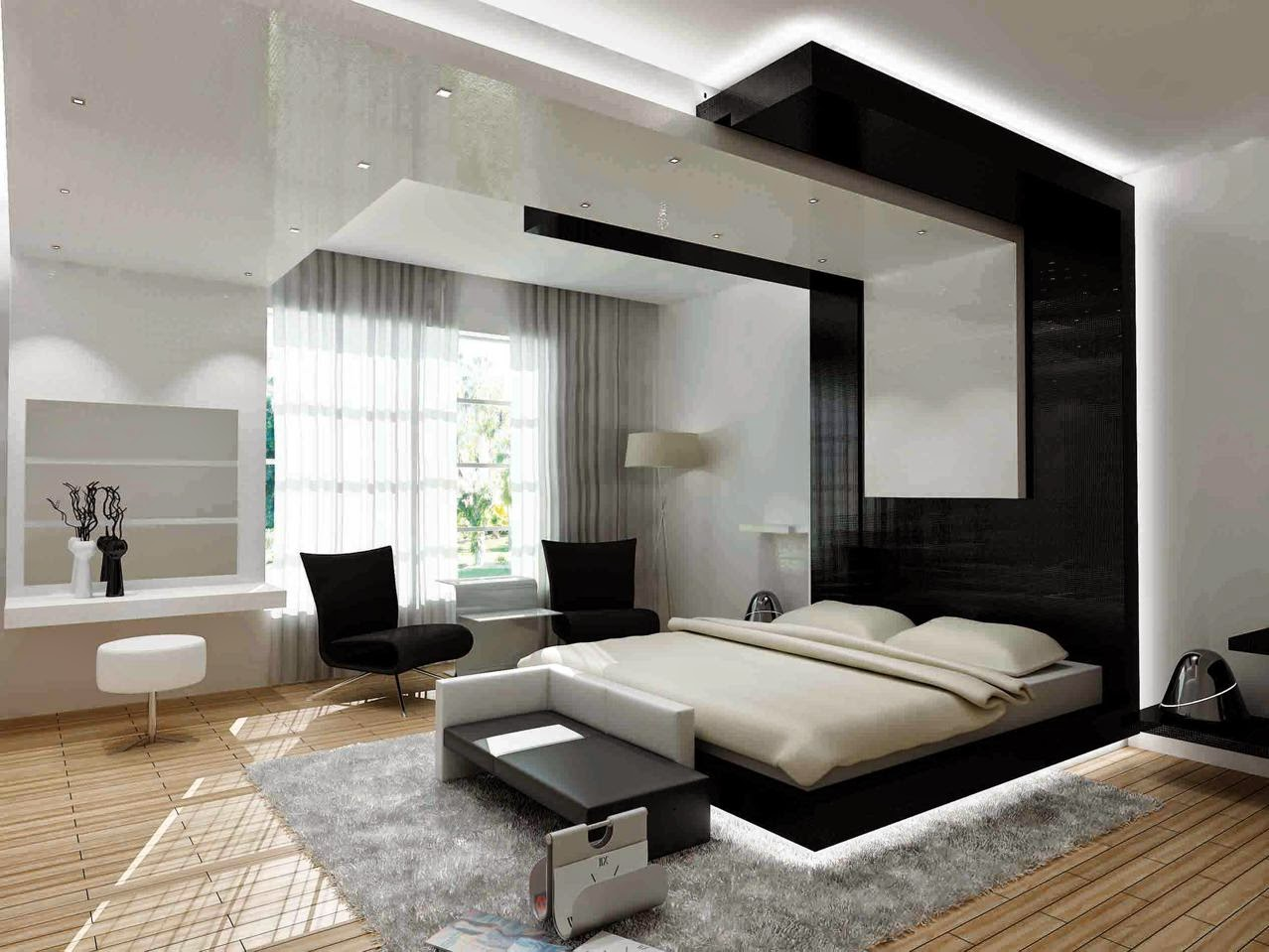modern bedrooms designs