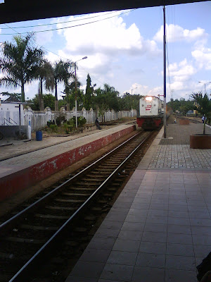 Station, Cepu train, Cepu travel