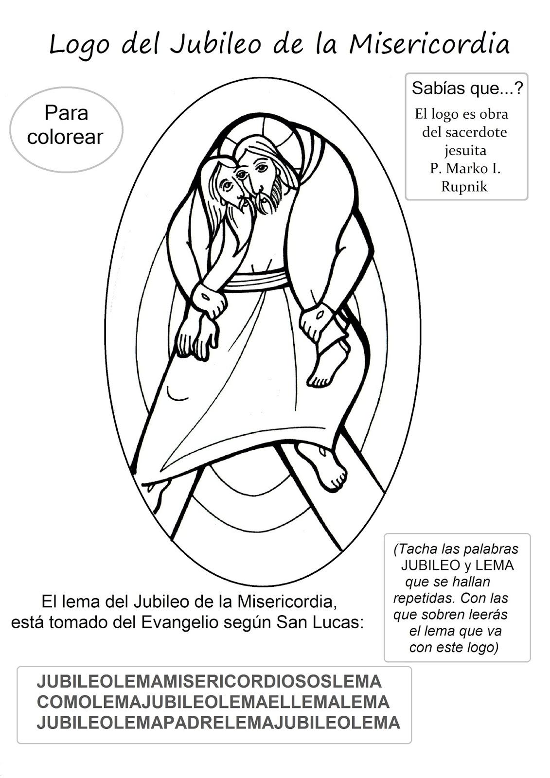 El Rincón de las Melli: LOGO para colorear - Jubileo de la ...