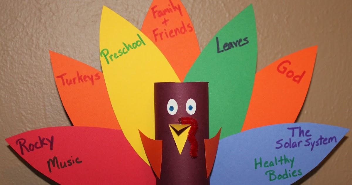 Preschool crafts for kids thanksgiving turrkey toilet for Pre k turkey crafts