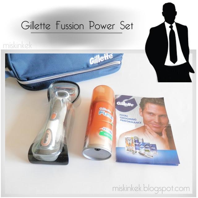 Erkeklere Özel Bakım #6: Gillette Fusion Power Tıraş Makine Seti