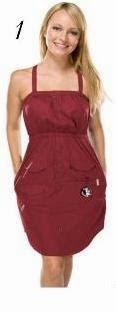 FSU strappy dress