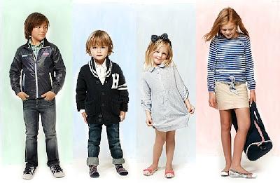 MODA LOOKS INFANTILES 2012 TOMMY HILFIGER