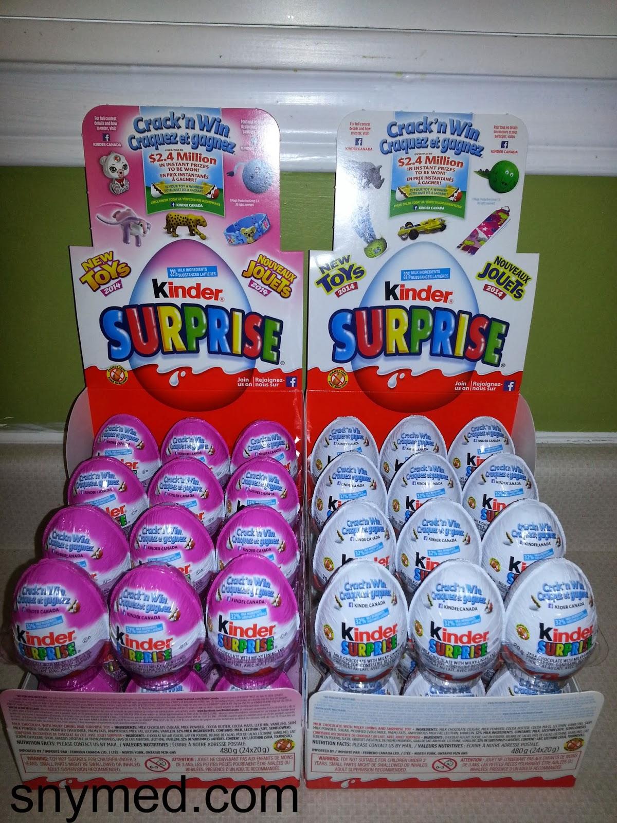 Crazy for Kinder Surprise Egg Crack'n Win CONTEST! ~ snymed