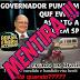 Mentira: Governador de SP pune PM que baleou ladrão de moto.