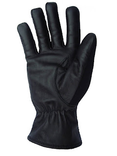 Neoprene and Leather Gloves from AbbyShot - Palm View