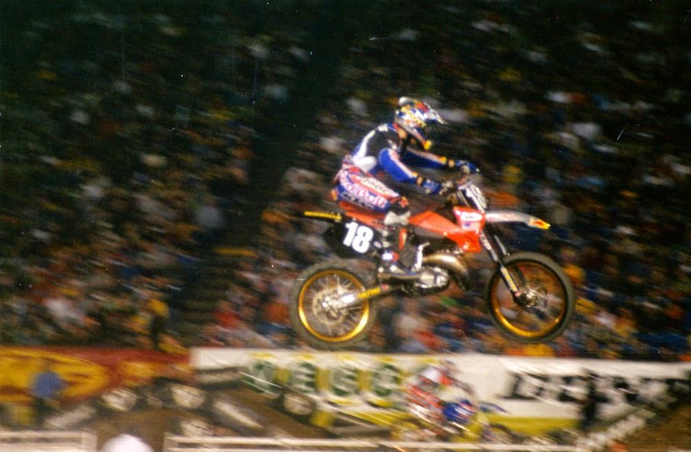 Brock Sellards Pontiac Supercross 2001
