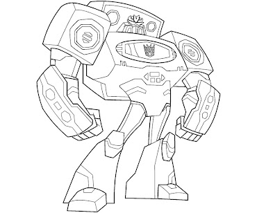 #9 Transformers Coloring Page