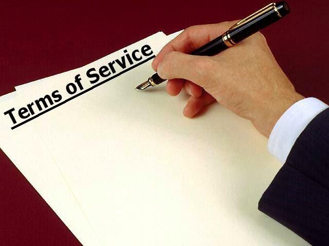 Cara Membuat Terms Of Service ( TOS ) Pada Blog