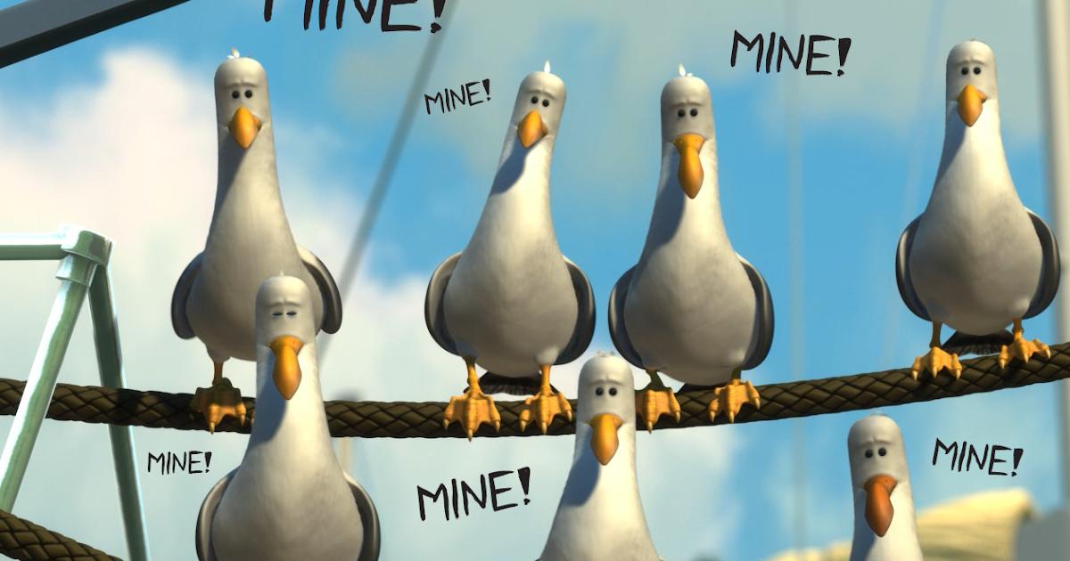 Life in zee Burrow: Mine mine mine!